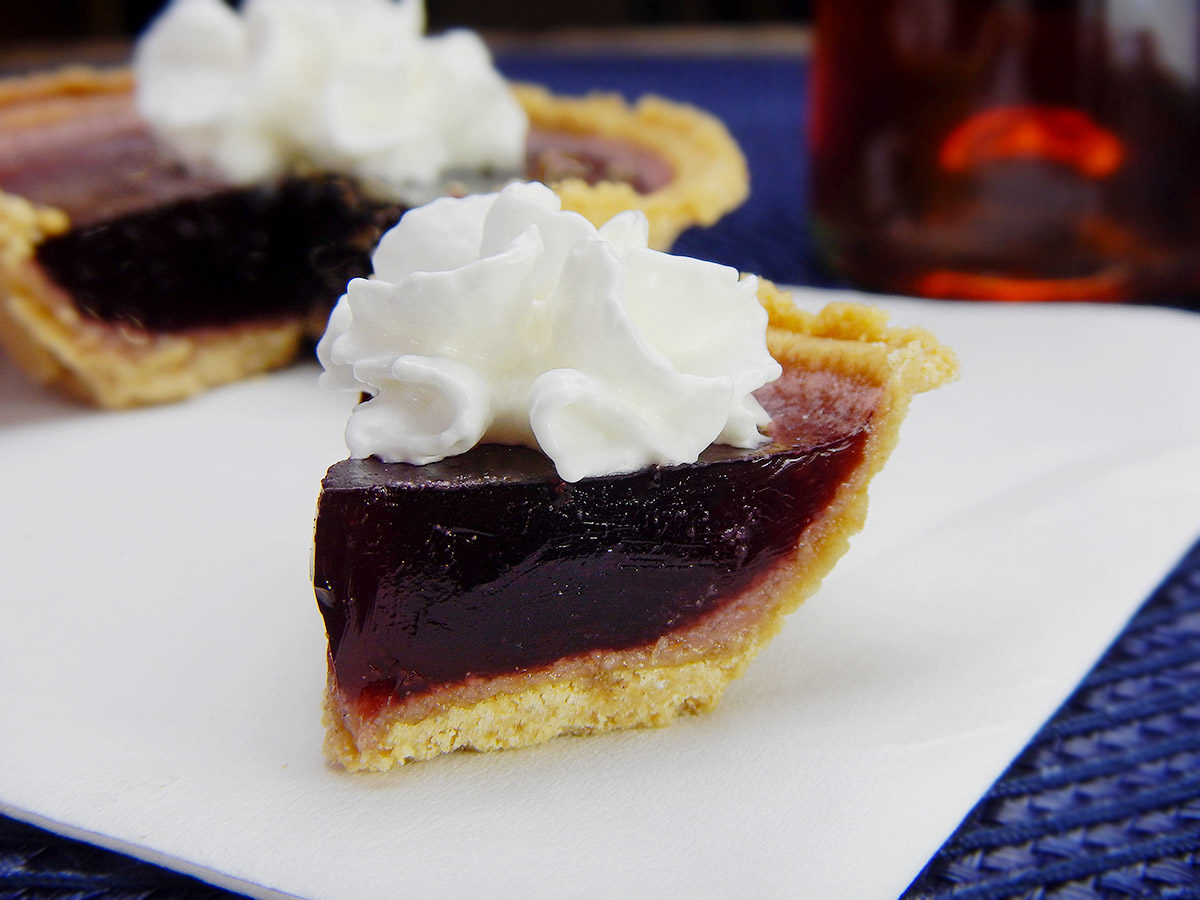 Blueberry Pie Jello Shots