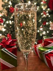 December Sparkling Wine