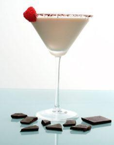 chocolate-raspberry-martini