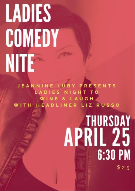 Ladies Night to Wine & Laugh!