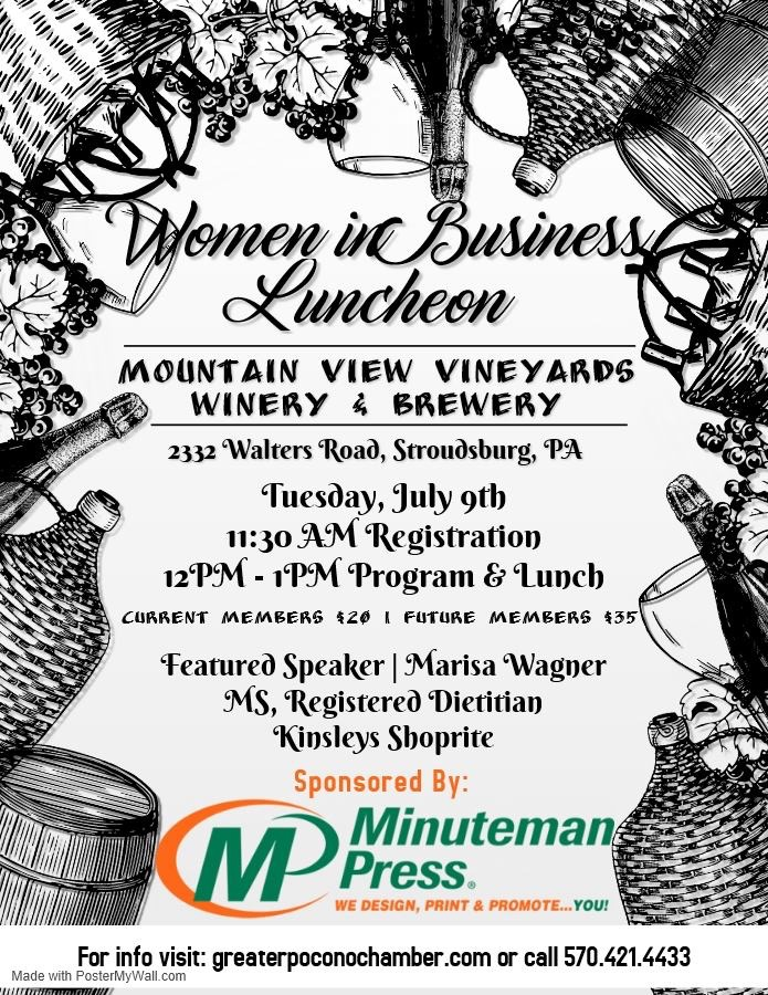 http://greaterpoconochamber.chambermaster.com/events/details/july-women-in-business-luncheon-738